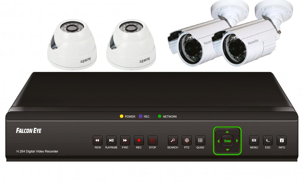 falcon eye Falcon Eye FE-104D KIT Офис - комплект видеонаблюдения
