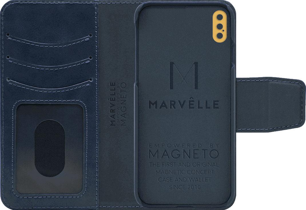 Чехол Marvelle N°301 для iPhone X/Xs (Oxford blue)