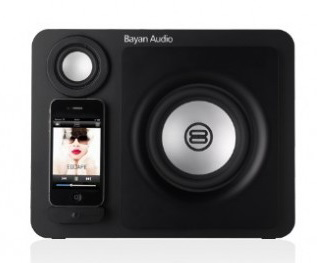 Bayan 3 Speaker dock - док-станция для iPhone/iPod (Carbon Black) от iCover