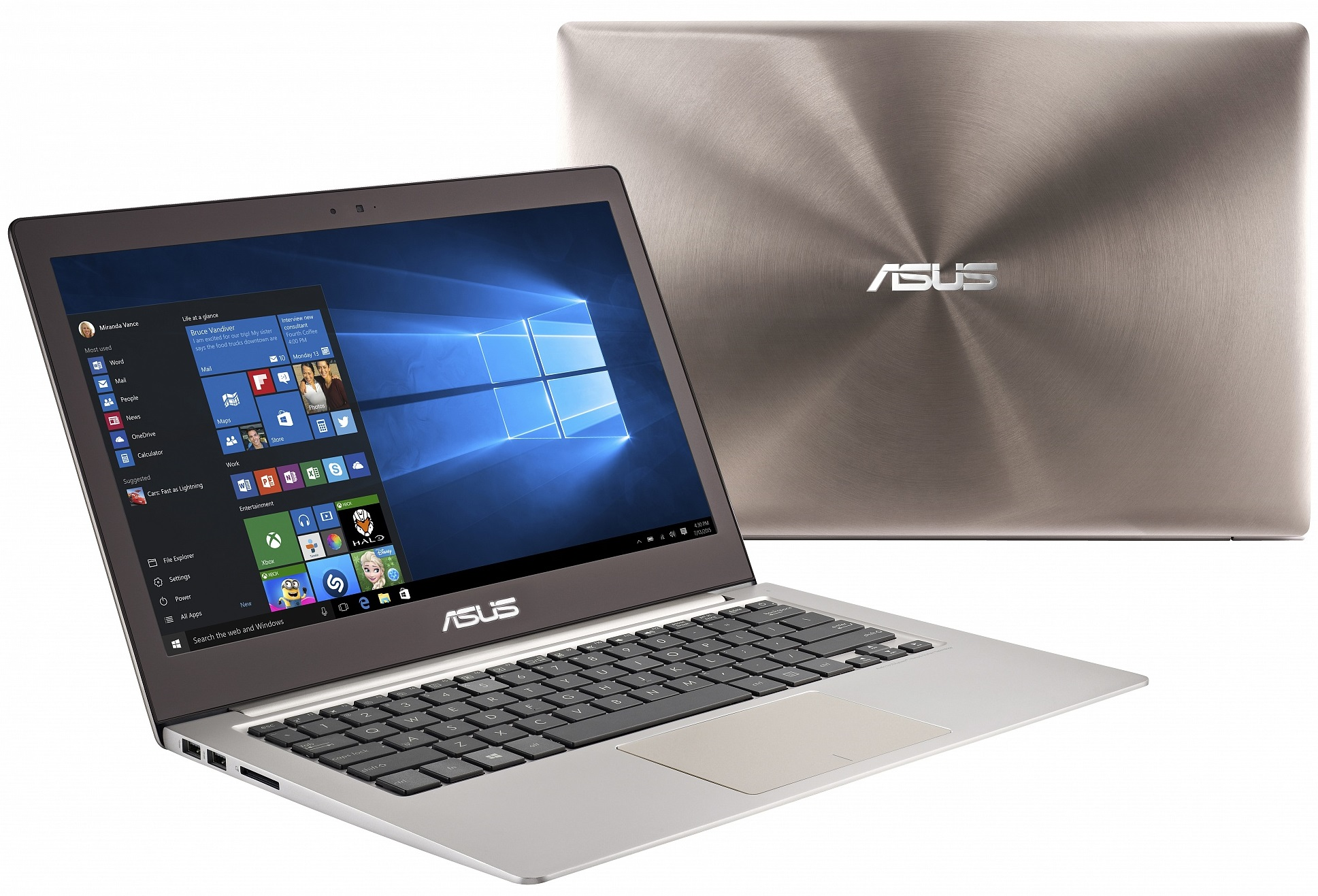 Ноутбук Asus UX303UA-R4364T BTS 13.3'', Intel Core i3 6100U 2.3Ghz, 4Gb, 1Tb HDD (90NB08V1-M06500)