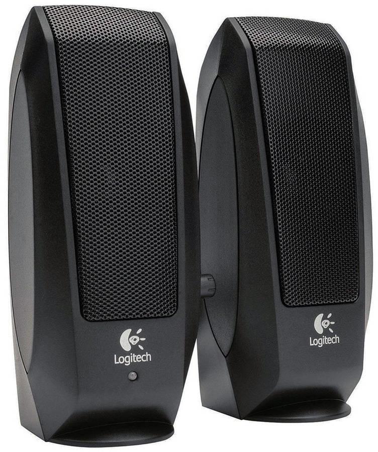 Logitech S-120 (980-000010) - акустическая система (Black)