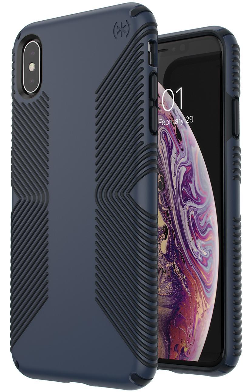 Чехол Speck Presidio Grip (117106-6587) для iPhone Xs Max (Eclipse Blue/Carbon Black)