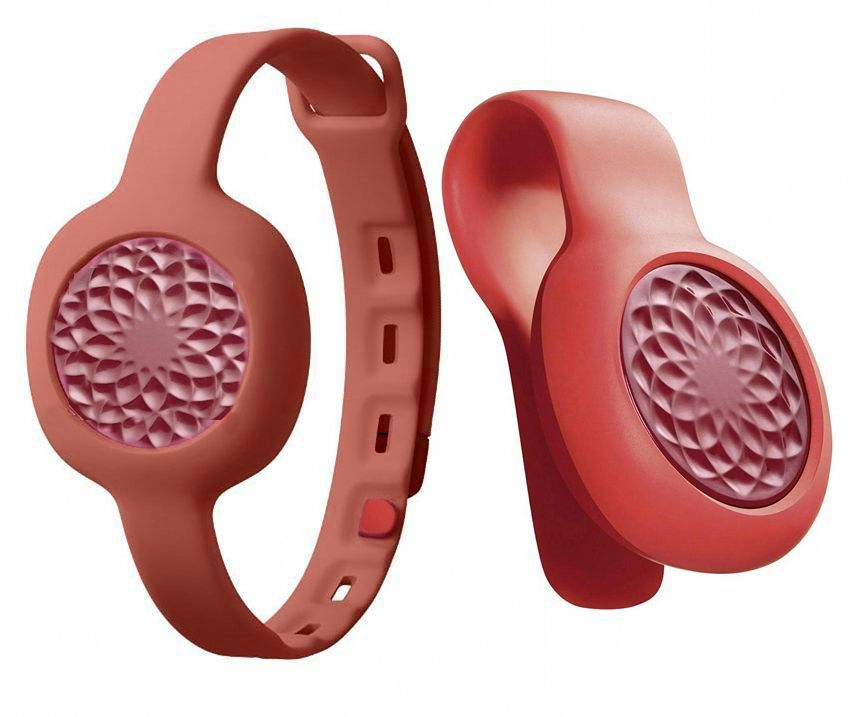 Jawbone UP Move (JL07-RRS-EM) RU - спортивный трекер-клипса + ремешок (Ruby)