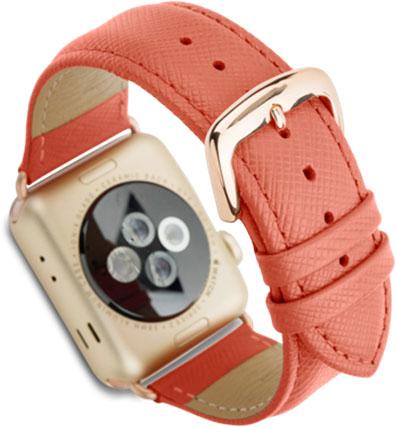 Сменный ремешок Dbramante1928 Mode Madrid (AW38RRGO5144) для Apple Watch 38mm (Rusty Rose)