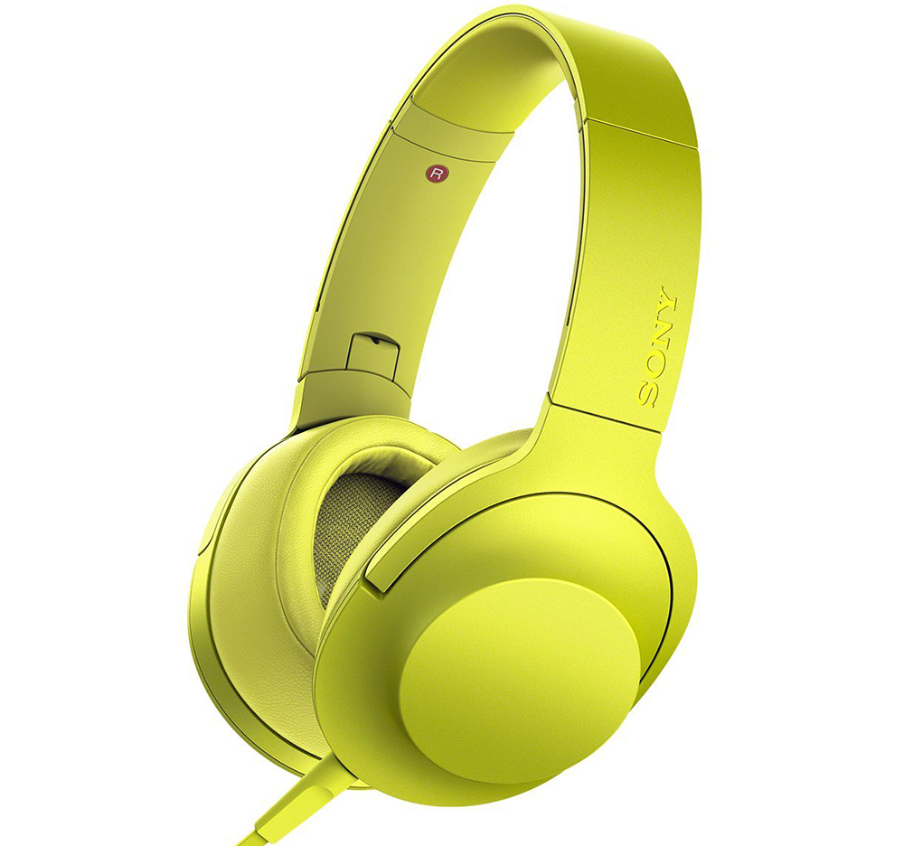 Sony MDR-100AAP - полноразмерные наушники (Yellow)Полноразмерные наушники<br>Полноразмерные наушники<br>