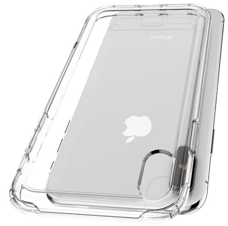 Чехол Spigen Crystal Hybrid (065CS25160) для iPhone Xs Max (Crystal Clear)