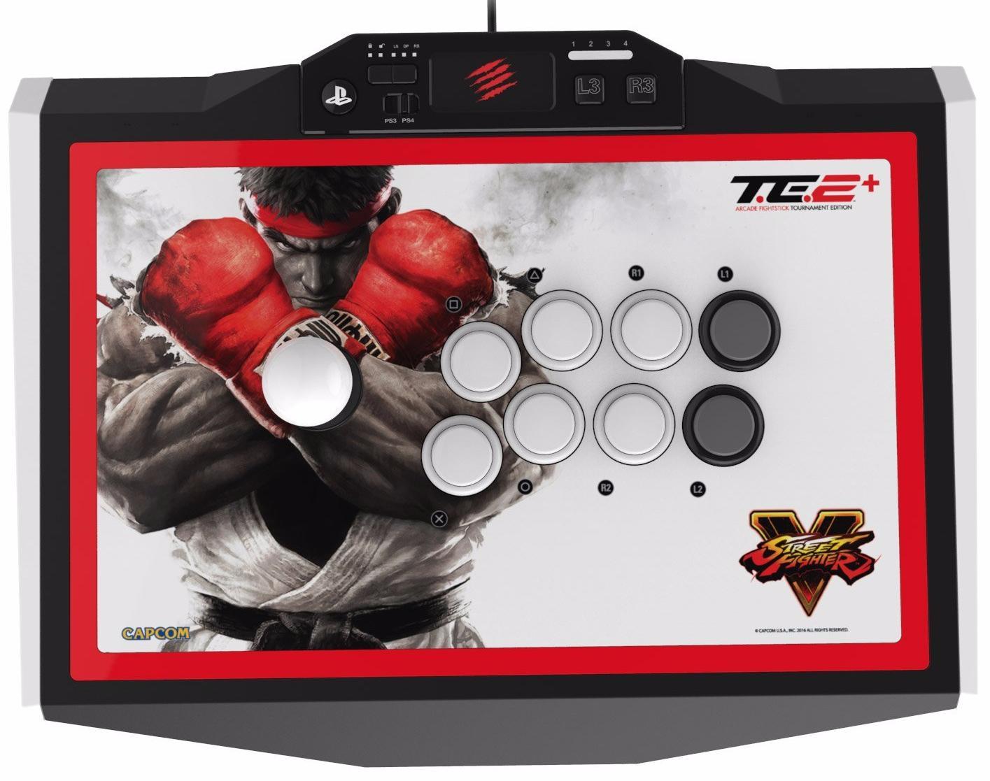 Mad Catz Arcade Fightstick Street Fighter V TE2+ SFV89481BSA1/01/1