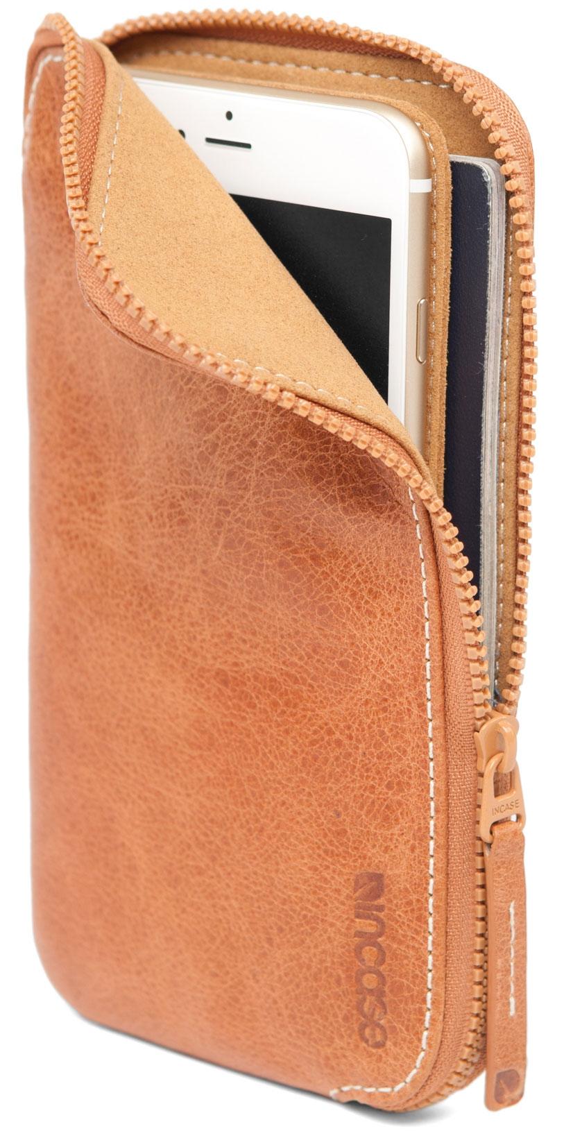 Incase Leather Zip Wallet