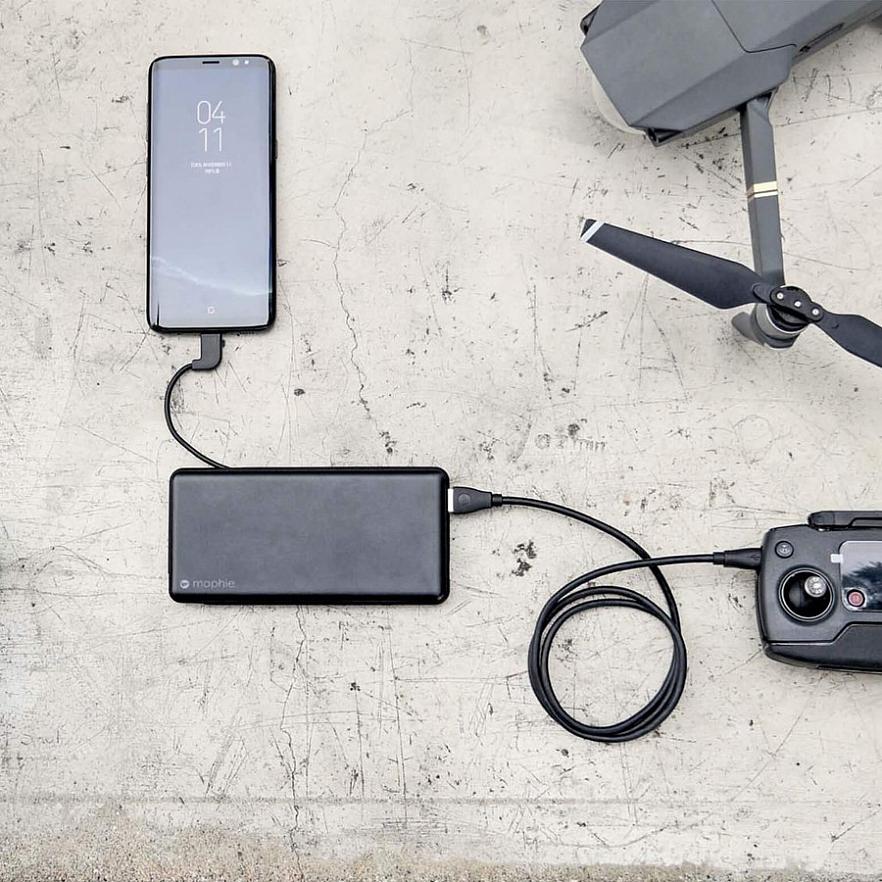 Внешний аккумулятор Mophie Powerstation Plus XL USB-C 12000 mAh (Black)