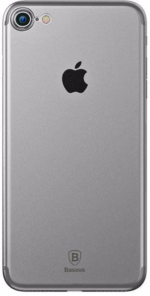 Baseus Wing Case (WIAPIPH7-E02) - чехол-накладка для iPhone 7 (Transparent White)