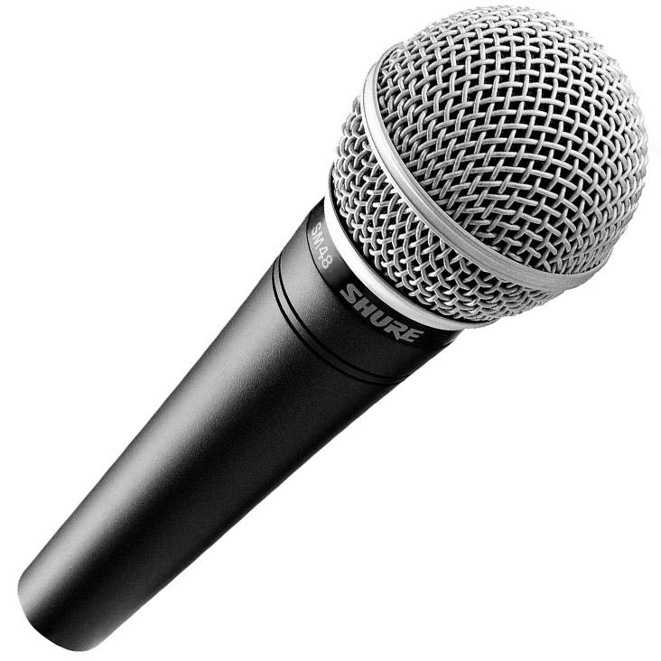 Shure SM48-LC - динамический вокальный микрофон (Black)