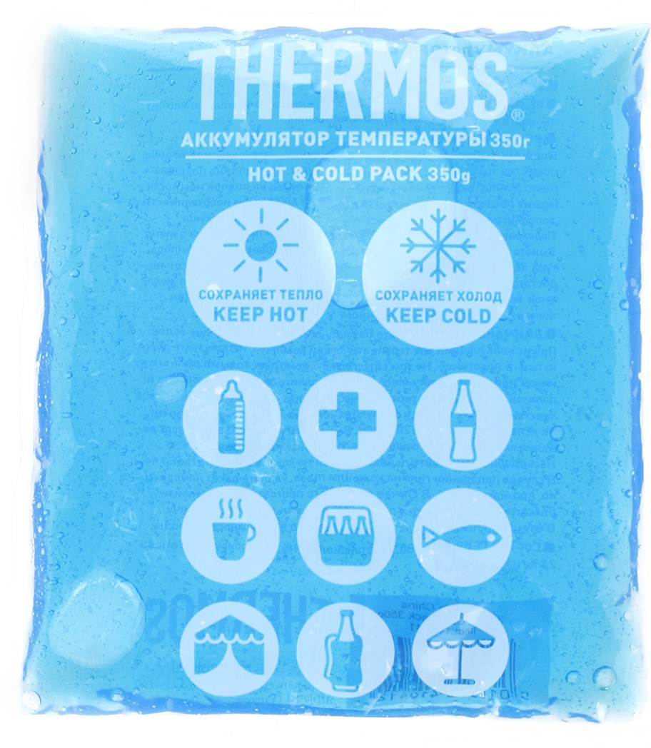 Thermos Gel Pack (410412) - аккумулятор температуры 350 г (Blue)