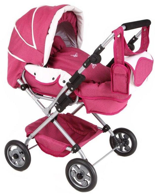 Tako WL4 (GL000070465) - коляска для кукол (Raspberry/White) от iCover
