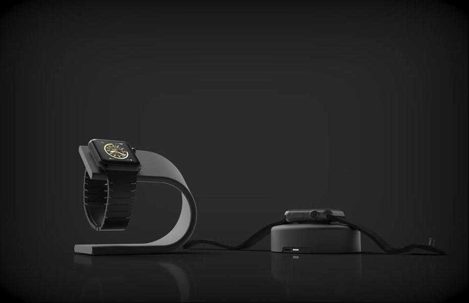 Nomad Stand - док-станция для Apple Watch (Space Gray)