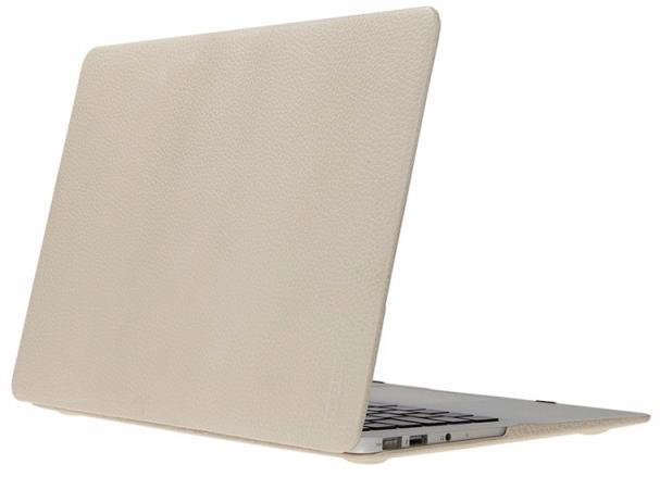 Heddy Leather Hardshell (OEM-N-A-12-01-08) - чехол для MacBook 12 (Beige)