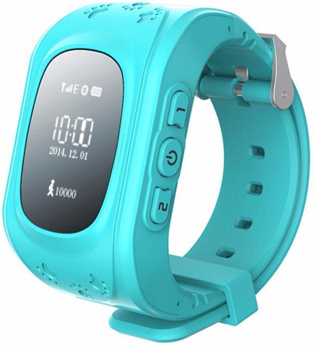 Кнопка жизни К911 - детские часы-телефон с GPS-геолокацией (Light Blue) нд