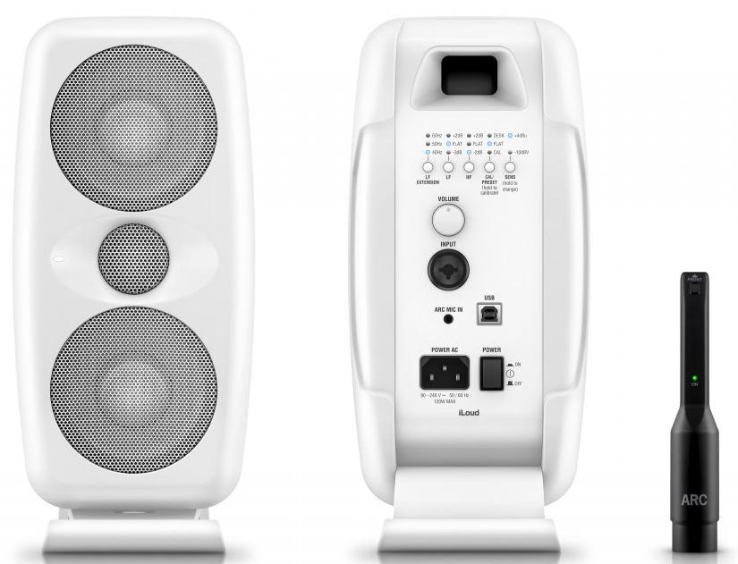 Студийный монитор IK Multimedia iLoud MTM (White).
