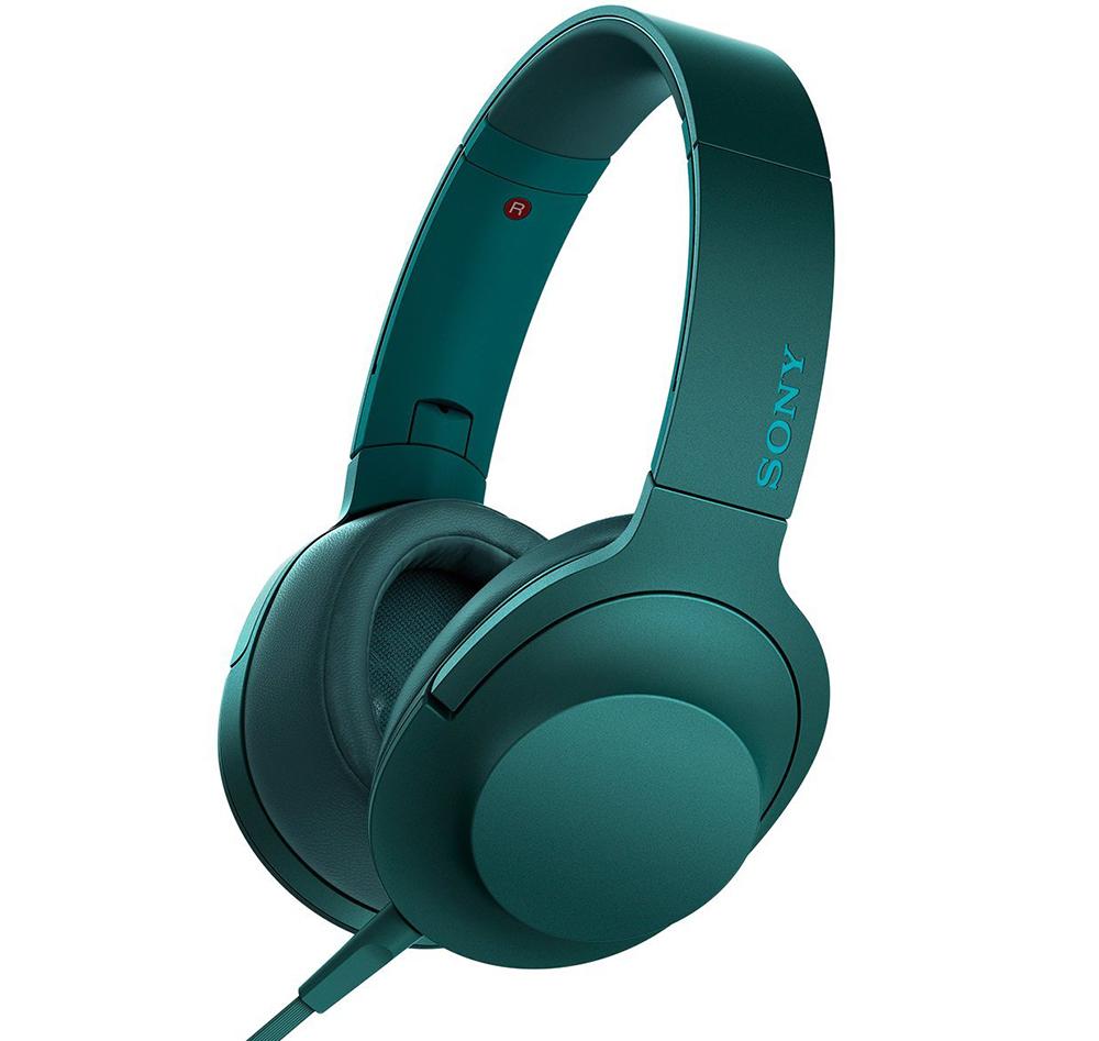 Sony MDR-100AAP - полноразмерные наушники (Turquoise)