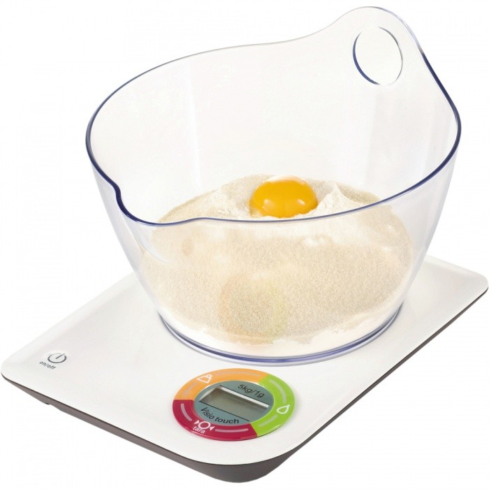 Tefal BC-5060B1 - кухонные весы с чашей