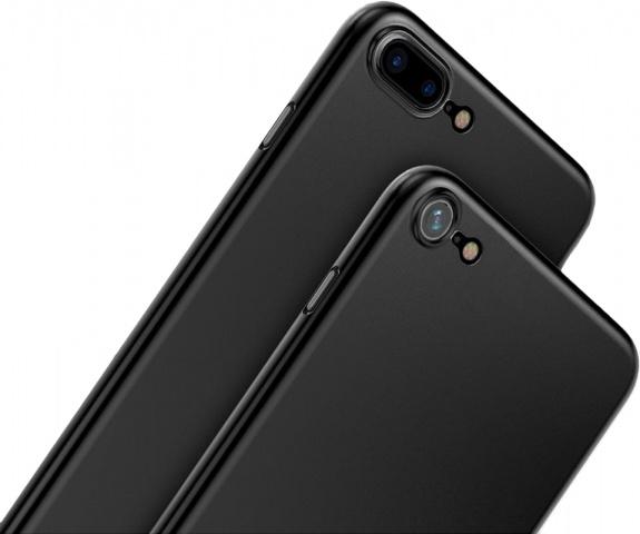 Baseus Wing Case (WIAPIPH7P-E1A) - чехол-накладка для iPhone 7 Plus (Black)