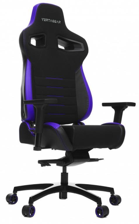 Игровое кресло Vertagear P-Line PL4500 (Black/Purple) фото