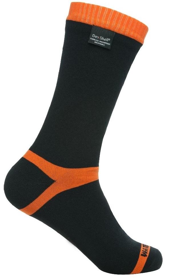 Купить DexShell Hytherm Pro S (DS634S) - водонепроницаемые носки (Black/Orange)