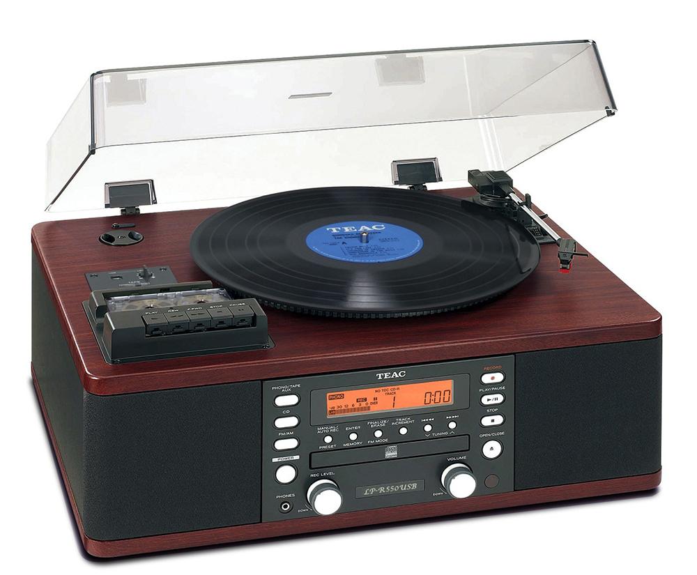 Teac LP-R550 USB - проигрыватель виниловых дисков (Woodgrain)Проигрыватели виниловых дисков<br>Проигрыватель винила<br>