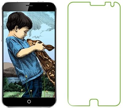 Ainy AC-Mc695 - защитная пленка для Meizu MX5 (глянцевая)