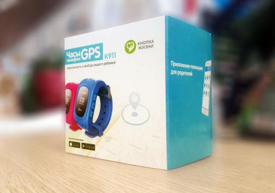 Детские часы-телефон с GPS-геолокацией Кнопка жизни К911 (Rose)