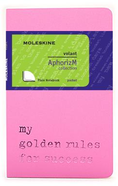 Moleskine Volant My golden rules for success QP713D/1GR