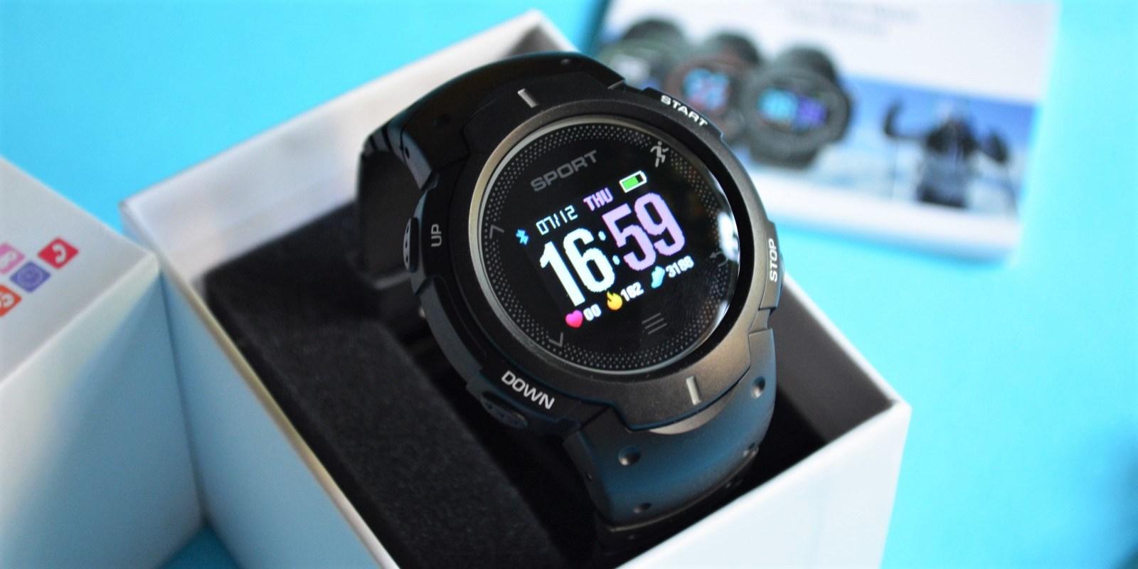 Умные часы NO.1 F13 (Black)
