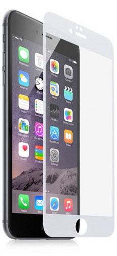 Защитное стекло Onext для iPhone 6/6S (White)