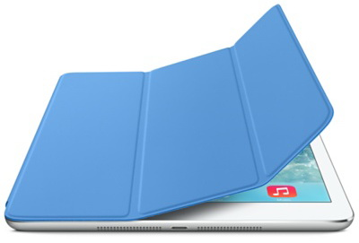 Apple iPad Air Smart Cover (MF054) - чехол для iPad Air / iPad Air 2 (Blue)