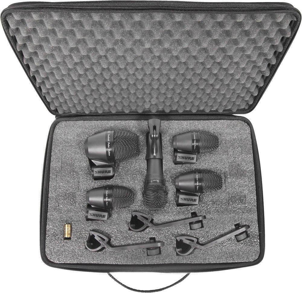 Shure PGADRUMKIT6 (A058951) - набор микрофонов для ударных (Black)