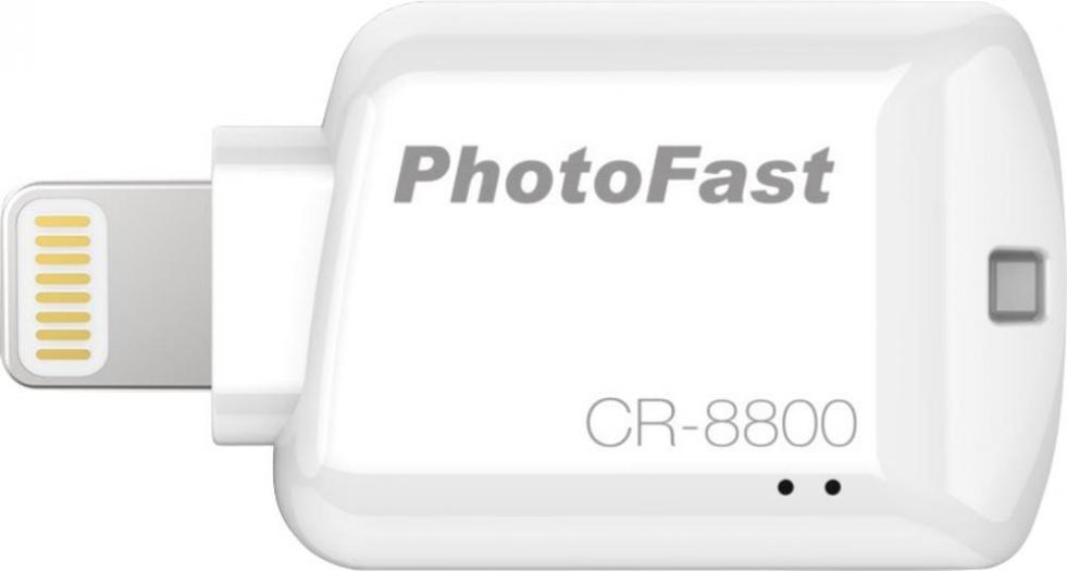 PhotoFast CR-8800 - microSD-картридер для iOS-устройств (White) CR8800W