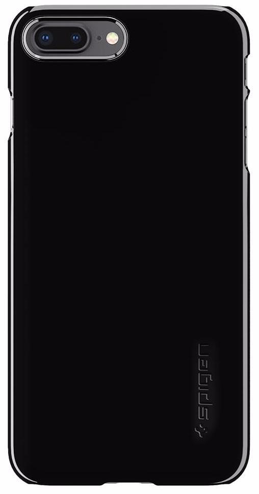 Чехол Spigen Thin Fit (055CS22240) для iPhone 8 Plus (Jet Black) стоимость