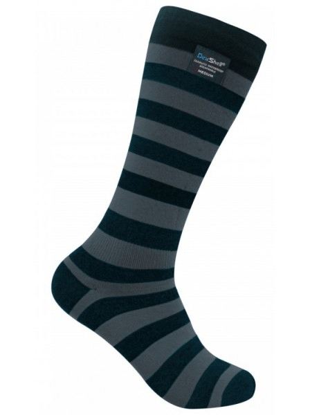 Купить Dexshell Longlite Grey DS633W M (DS633WGM) - водонепроницаемые носки (Grey/Black)
