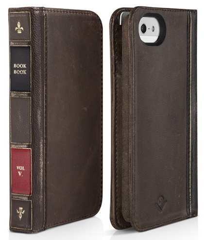 Twelve South BookBook (12-1232) - чехол для iPhone 5/5S/SE (Brown)