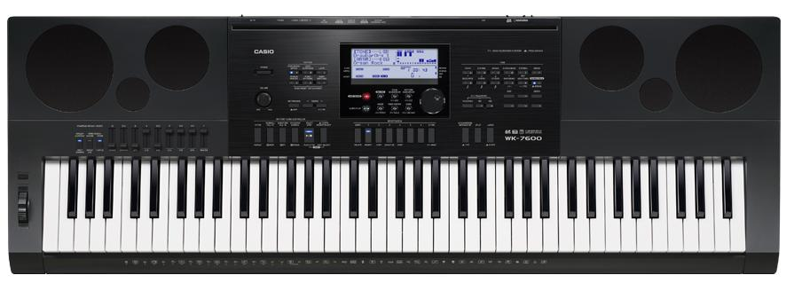 Casio WK-7600 (A041402) - синтезатор (Black)