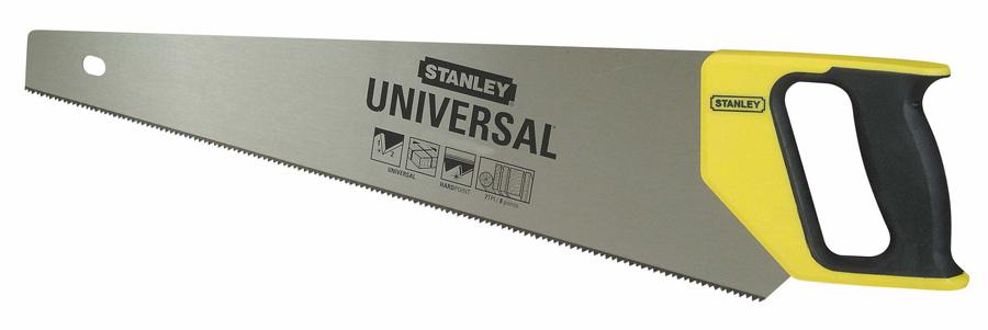 Stanley 1-20-002 - универсальная ножовка 380 мм (Yellow)Ножовки и пилы<br>Универсальная ножовка<br>