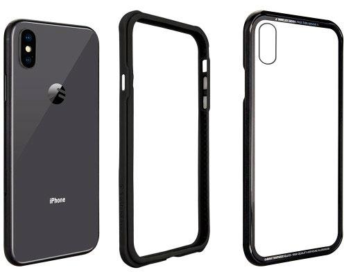 Чехол SwitchEasy iGlass для iPhone XS (Black)