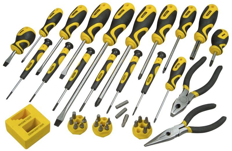 Stanley STHT0-62114 (0-62-114) - набор отверток и инструментов (39 шт.)  набор отверток stanley basic 10 шт