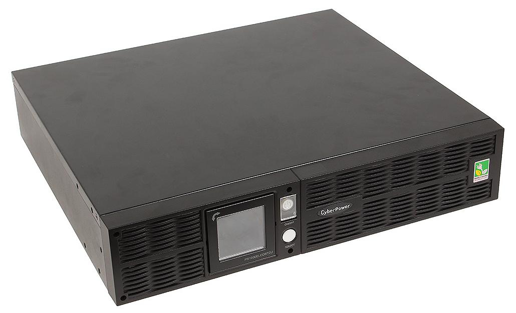 CyberPower PR1000ELCDRT2U - источник бесперебойного питания (Black)