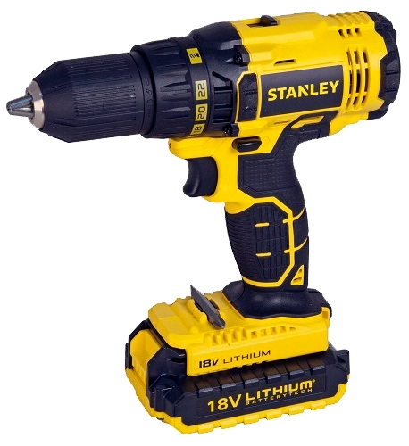 Stanley SCD20C2K-RU - дрель-шуруповерт (Yellow)