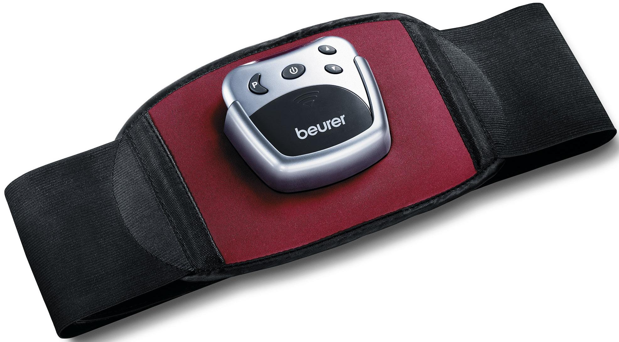 Beurer EM 30 - тренажер-миостимулятор для мышц живота (Black/Red)