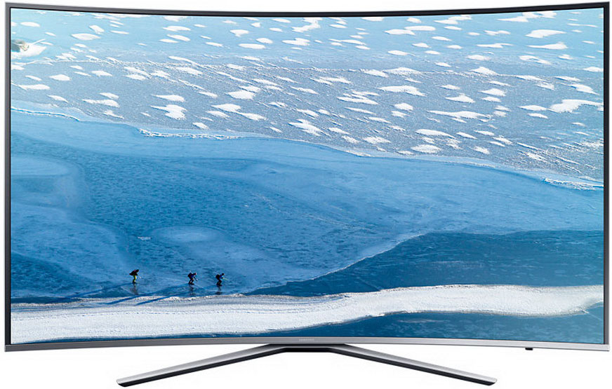 Samsung UE43KU6500UXRU - изогнутый телевизор (Silver)