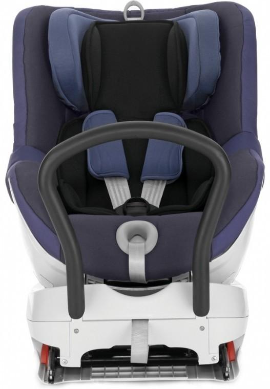 Romer Dualfix - детское автокресло (Crown Blue Trendline)