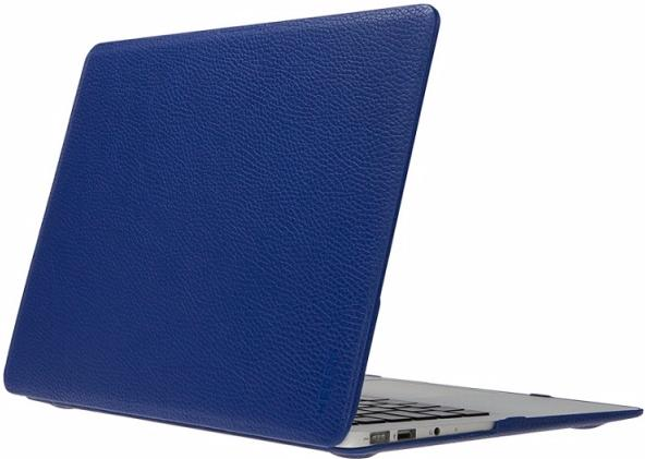Heddy Leather Hardshell (OEM-N-A-12-01-11) - чехол для MacBook 12 (Blue)