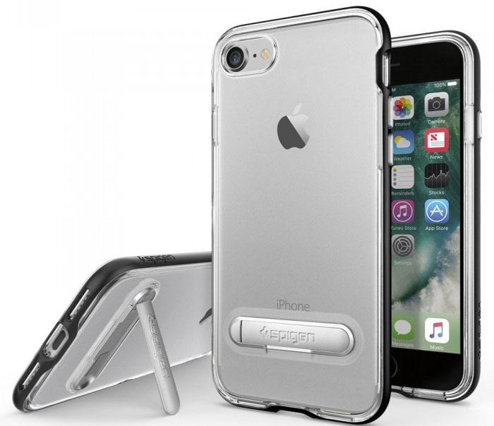 Spigen Crystal Hybrid для iPhone 7/8 (Black)
