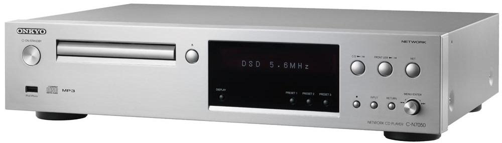 Onkyo C-N7050 - сетевой CD-плеер (Silver)